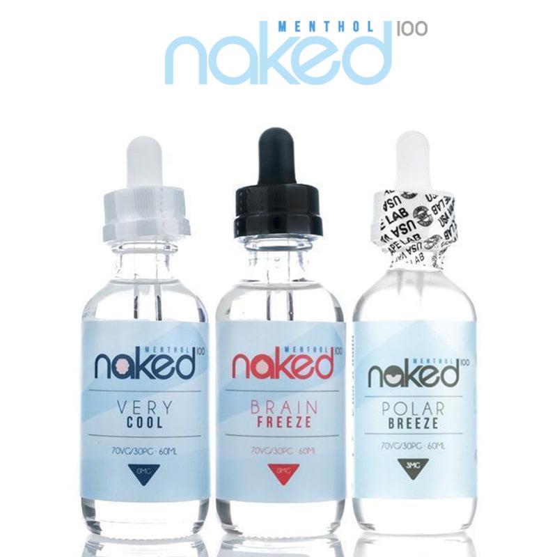 Naked 100 Menthol Shortfills