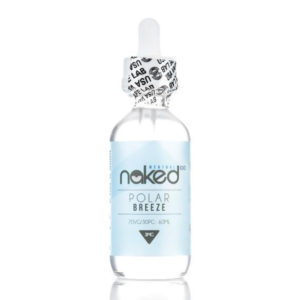 Polar Breeze 50ml Eliquid Shortfills By Naked100 Menthol