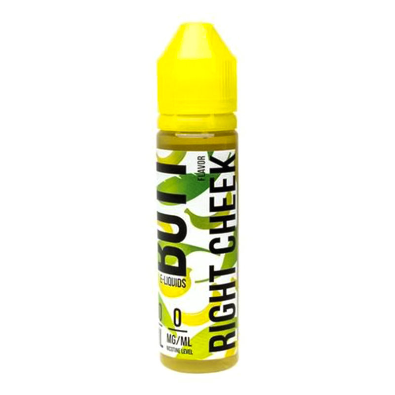 Right Cheek 50ml Eliquid Shortfill By Banana Butt