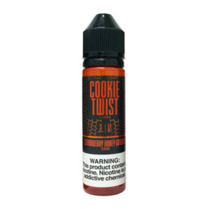 Strawberry Graham Cookie 50ml Eliquid Shortfill By Cookie Twist