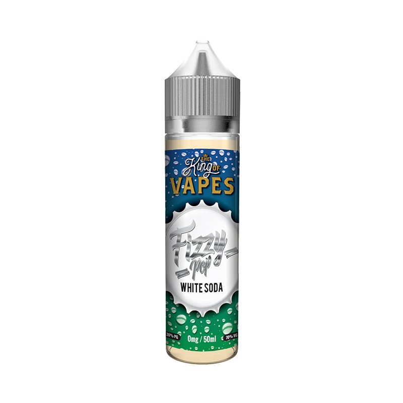 White Soda 50ml Eliquid Shortfills By Fizzy Pop King Of Vapes