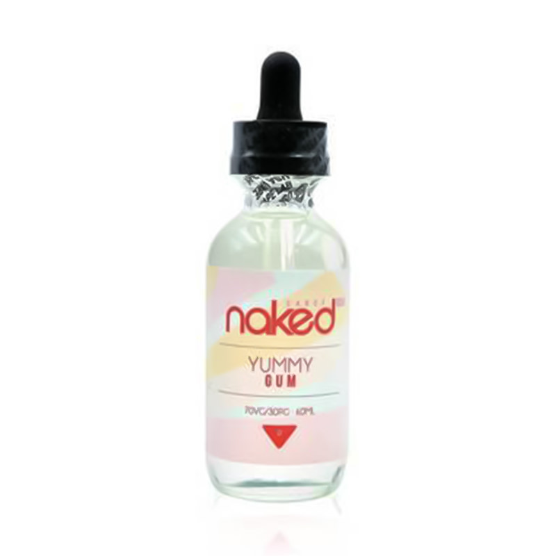 Yummy Gum 50ml Eliquid Shortfills By Naked 100 Candy Series