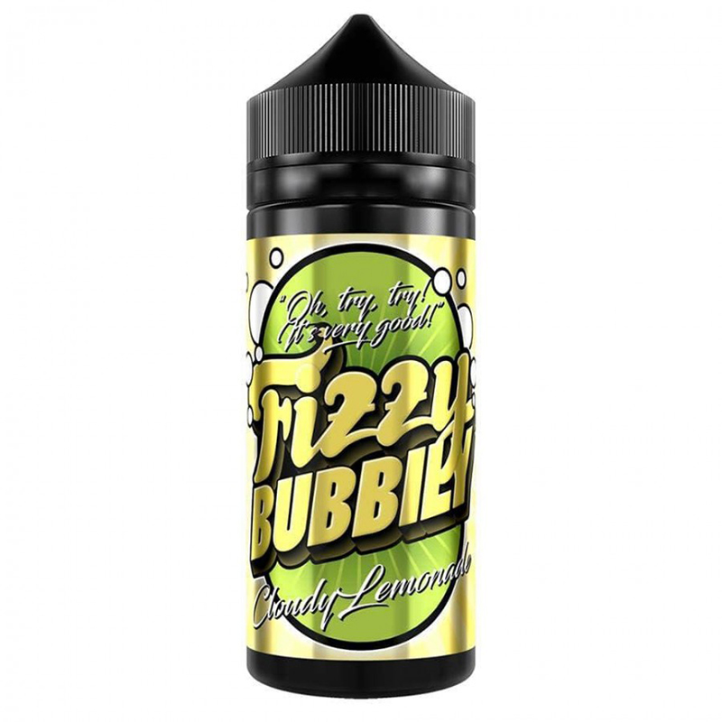 Cloudy Lemonade 100ml Eliquid Shortfills By Fizzy Bubbly The Yorkshire Vaper