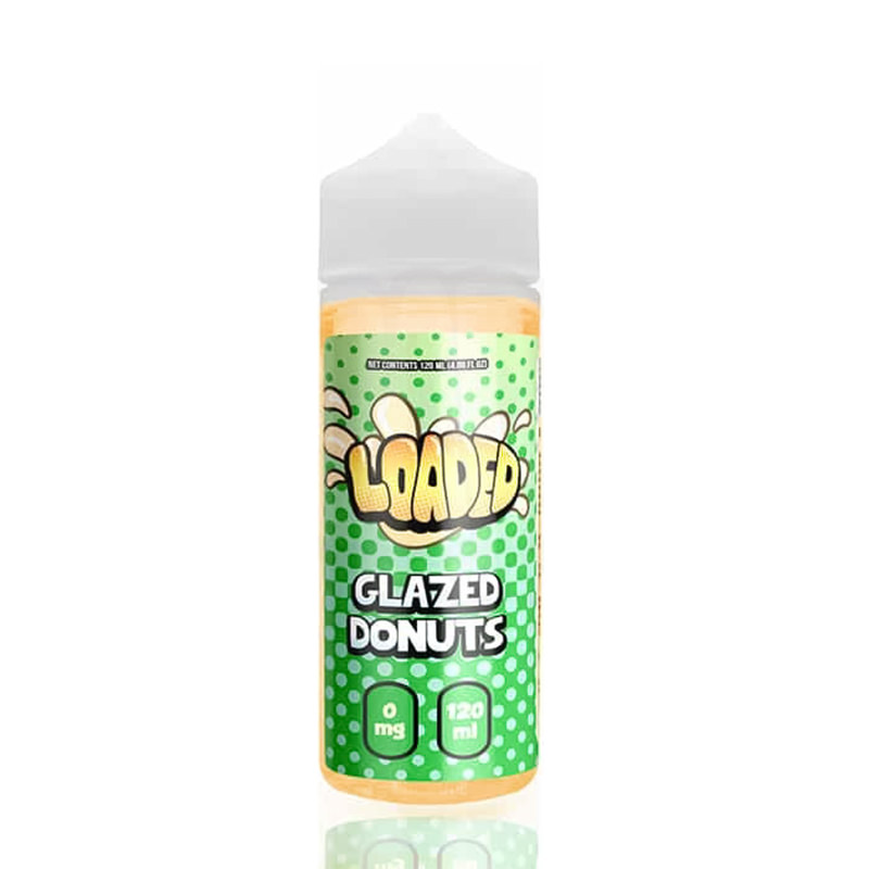 Glacé Donuts 100ml Eliquid Shortfills De Loaded