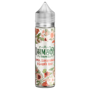 Ohmboy Volume 2 Apple Elderfower Garden Mint 50ml Eliquid Shortfill Flaska