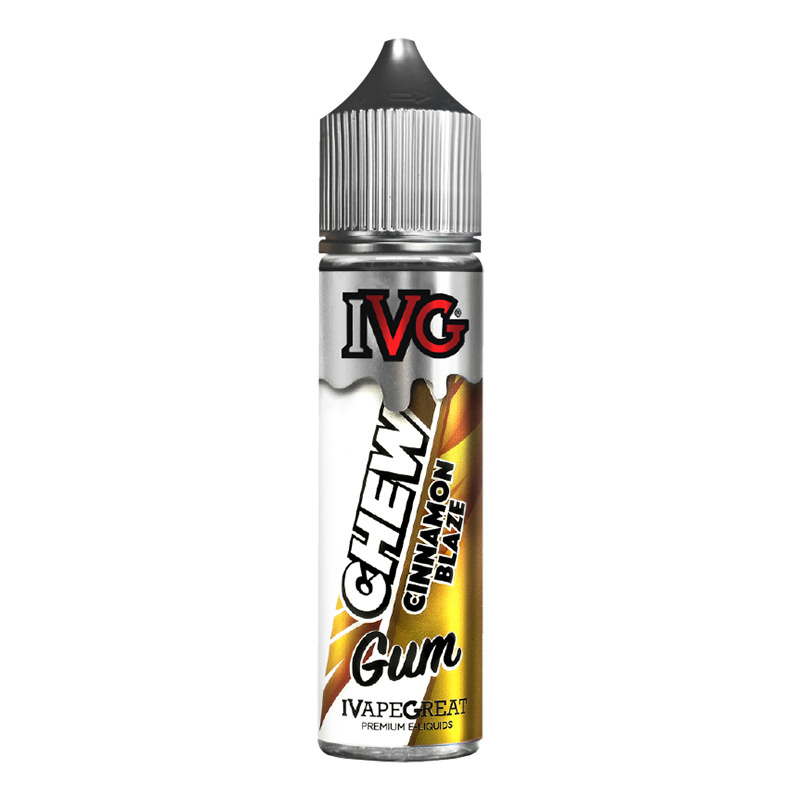 Elíquido Cinnamon Blaze 50ml Shortfills By I Vg Chew Goma