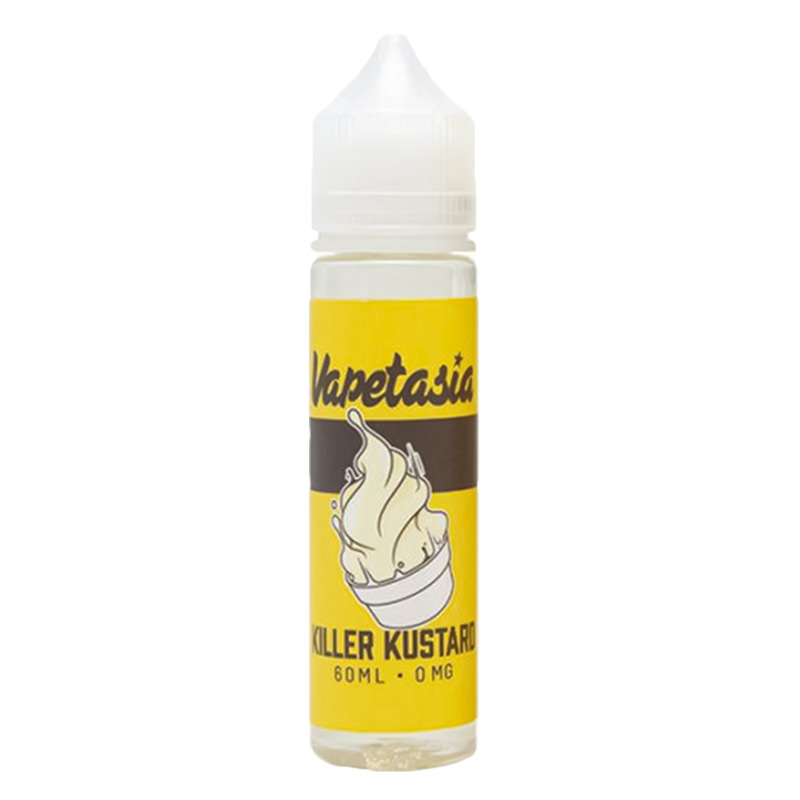 Killer Kustard 50ml Eliquid Shortfills By Vapetasia