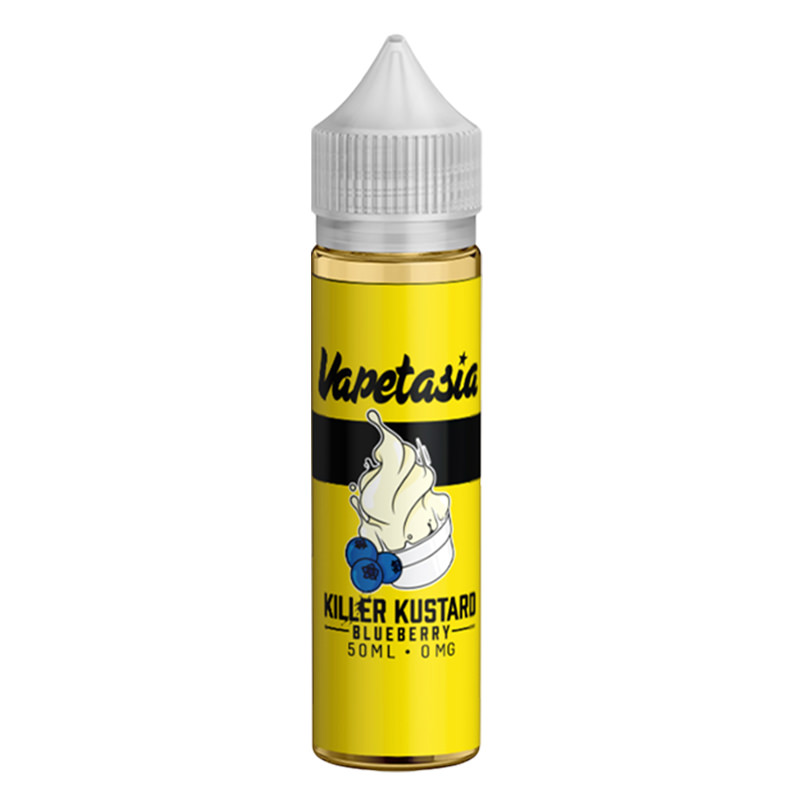 Killer Kustard Blueberry 50ml Eliquid Shortfills By Vapetasia