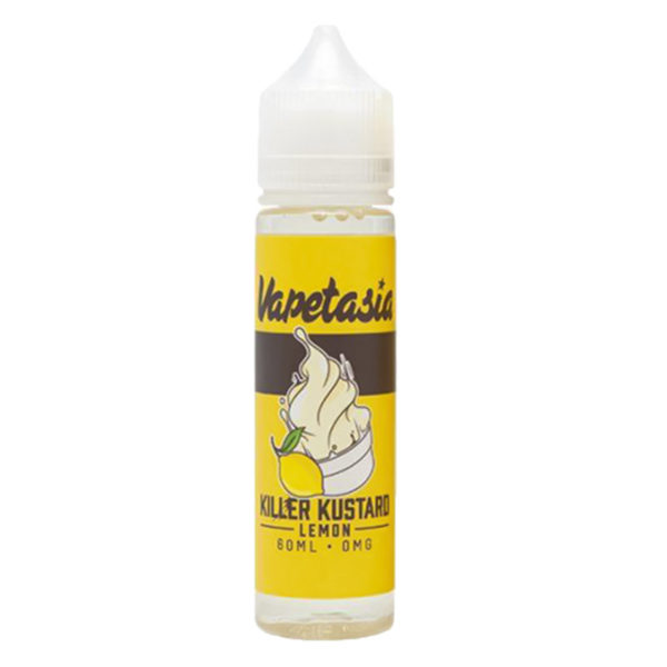 Killer Kustard Lemon 50ml Eliquid Shortfills By Vapetasia