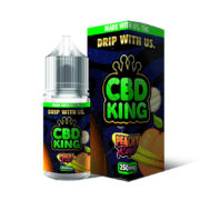 Peachy Rings 25ml Cbd Eliquid By Cbd King Candy King