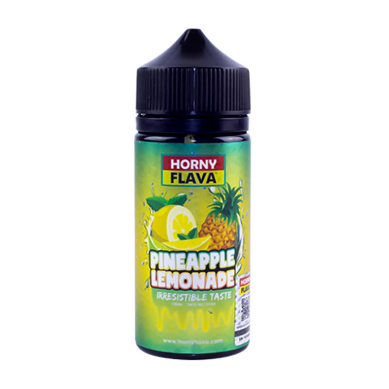 Ananaslimonade 100 ml eliquid Shortfills By Horny Flava
