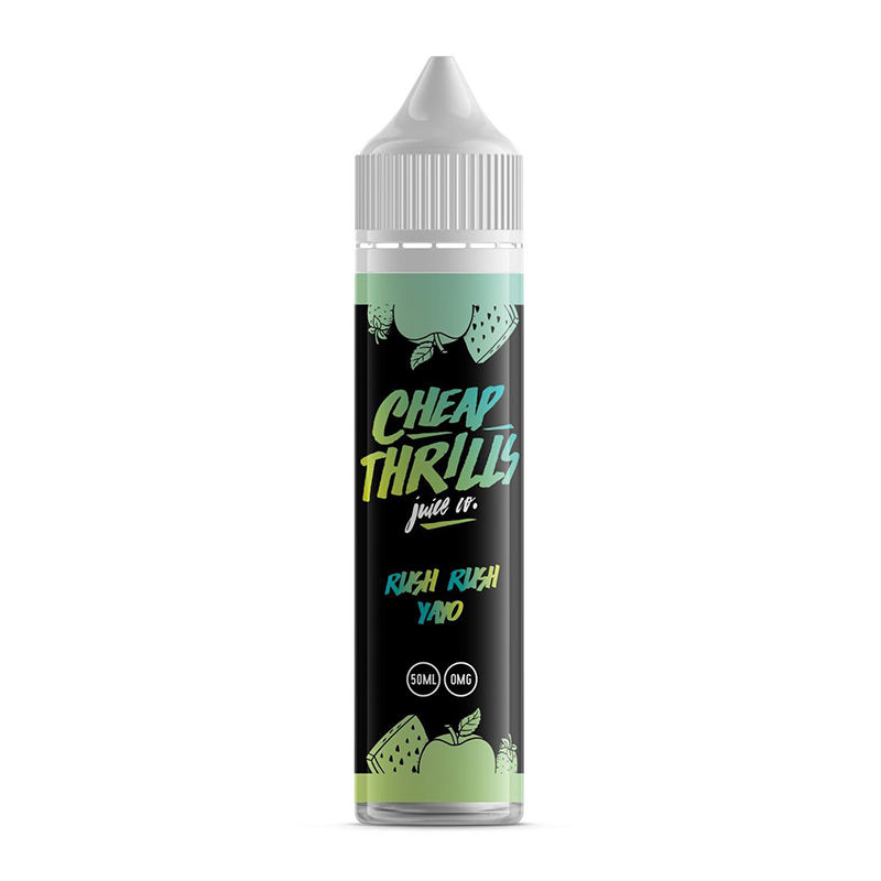 Rush Rush Yayo 50ml Shortfills By Cheap Thrills