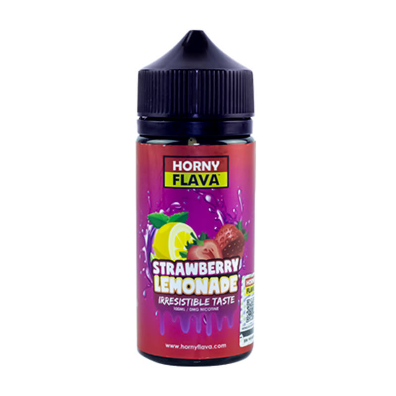Φράουλα Λεμονάδα 100ml Eliquid Shortfills By Horny Flava