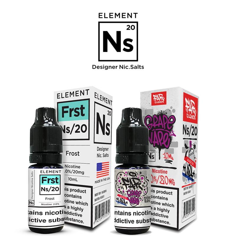 Ns20 Nicotine Salt E-Liquids