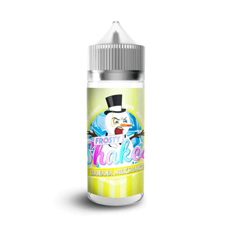 Μπανάνες Milkshake 100ml Παρασκευάσματα Ελκυστικών Από Frosty Shakes Dr Frost