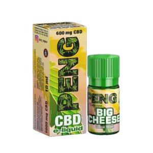 Big Cheese 10ml Cbd Eliquid 600mg By Peng Cbd