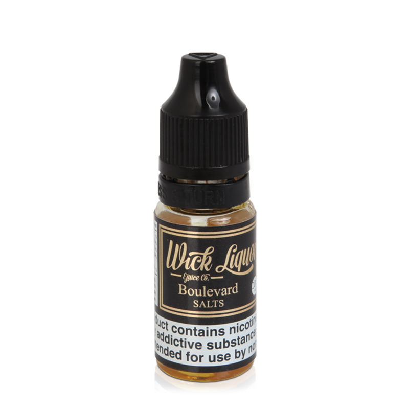 Boulevard Nicotine Salt Eliquid By Wick Liquor