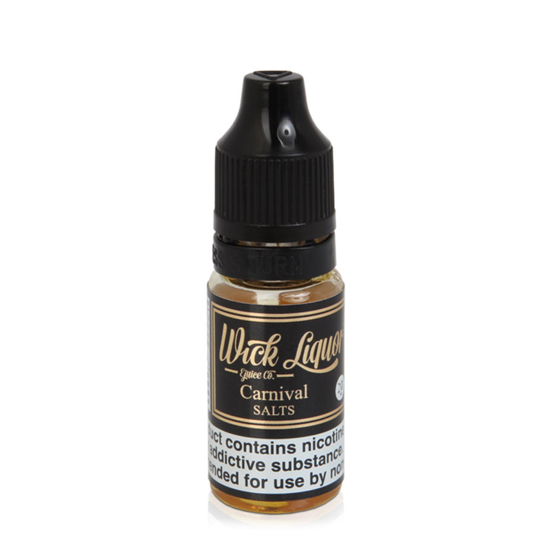 Carnival Nicotine Salt Eliquid By Wick Liquor