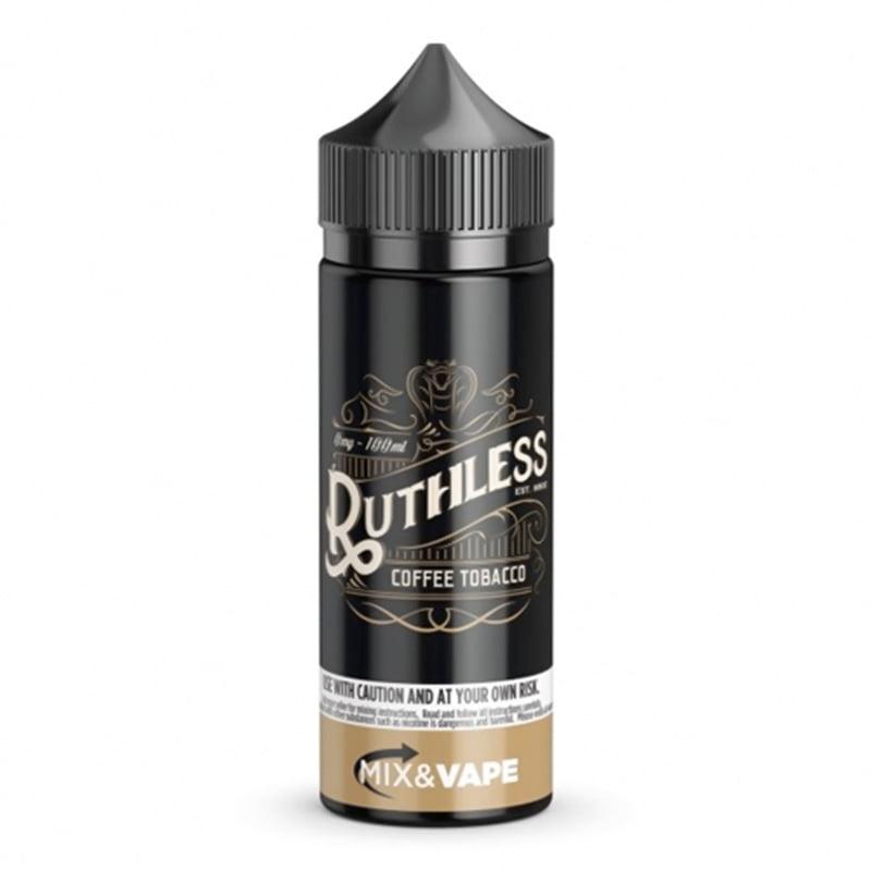 Coffee Tobacco 100ml Eliquid Shortfills By Ruthless Juice