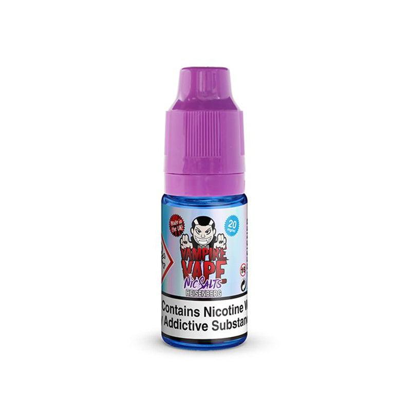 Хайзенберг никотинова солева еликвида от Vampire Vape Nic Salts