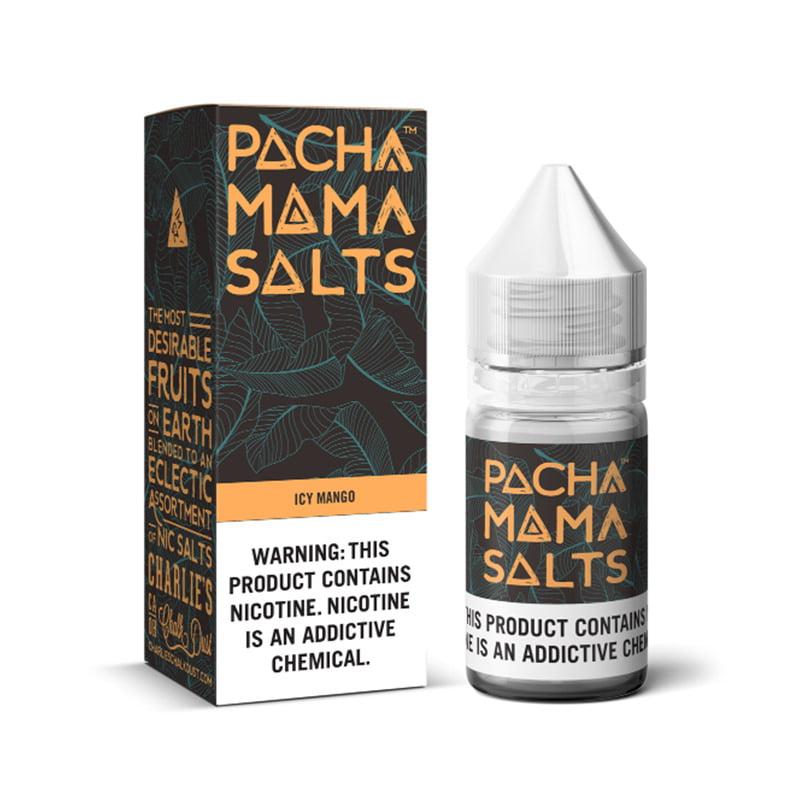Leden mango nikotinska sol Eliquid By Pacha Mama Ccd