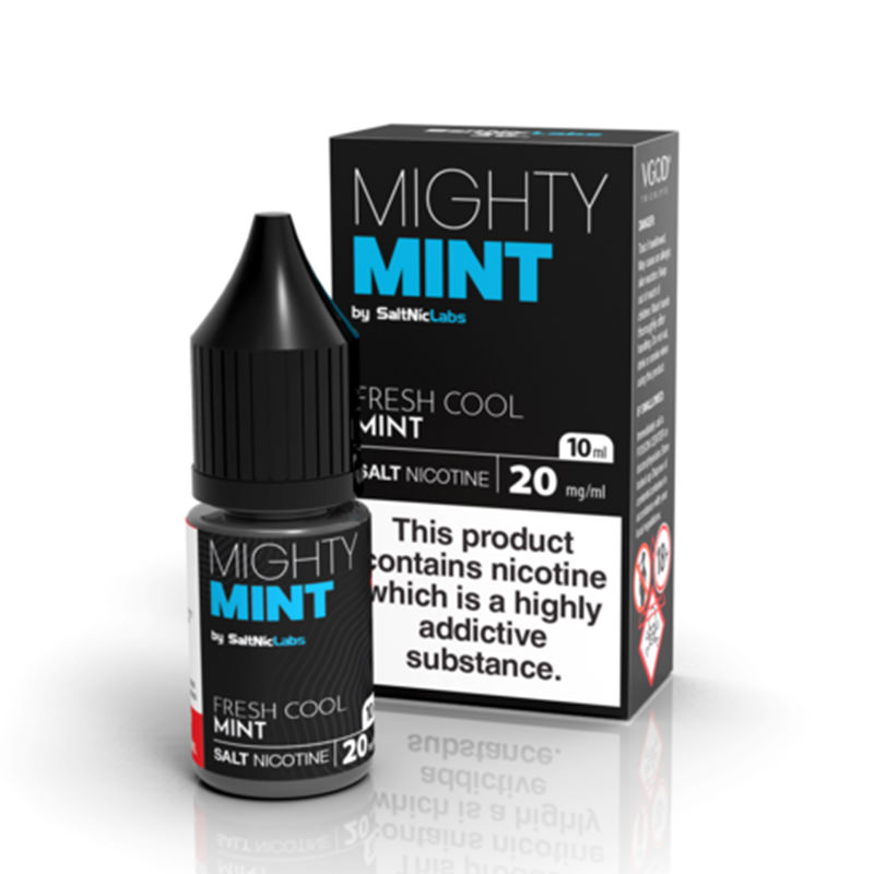 Mighty Mint 10ml Nicotine Salt Eliquid By Vgod