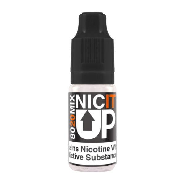 Nic It Up 80/20 Nicotine Shot