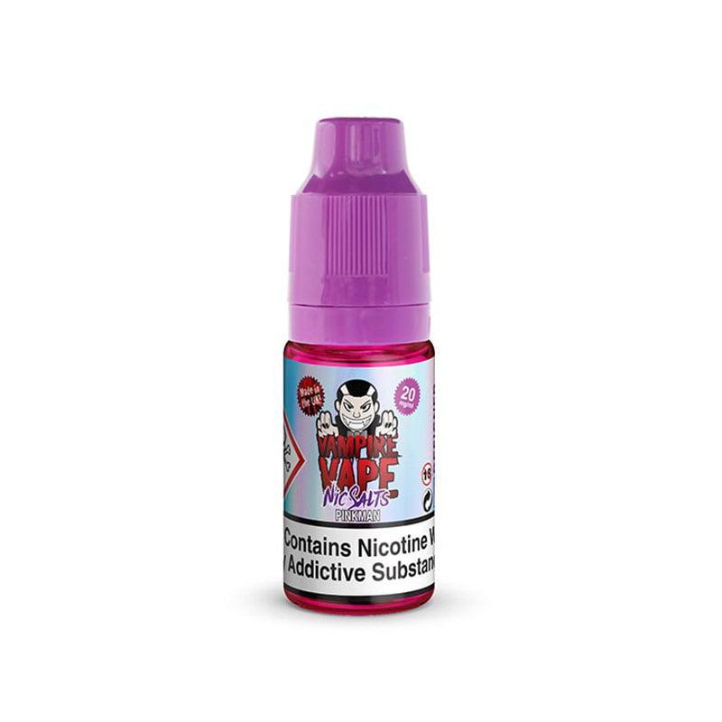 Pinkman Nicotine Salt Eliquid By Vampire Vape Nic Salts