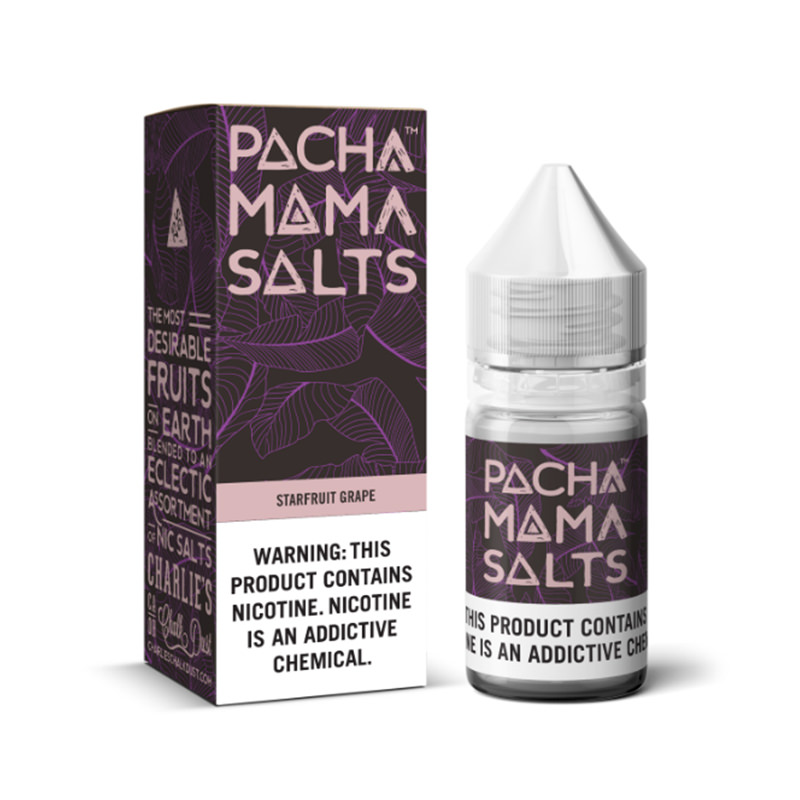 Starfruit Grape Nicotine Salt Eliquid By Pacha Mama Ccd