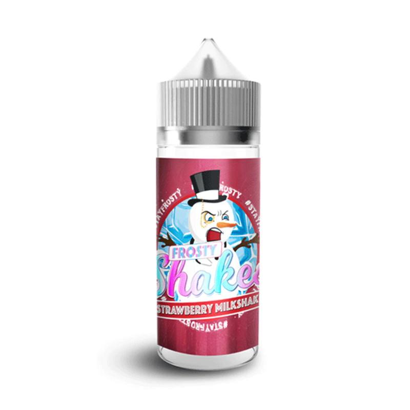 Zemeņu piena kokteilis 100ml Eliquids Shortfills By Frosty Shakes Dr Frost