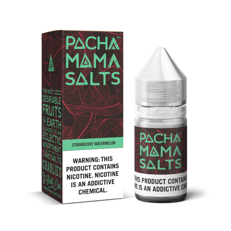 Strawberry Watermelon Nicotine Salt Eliquid By Pacha Mama Ccd