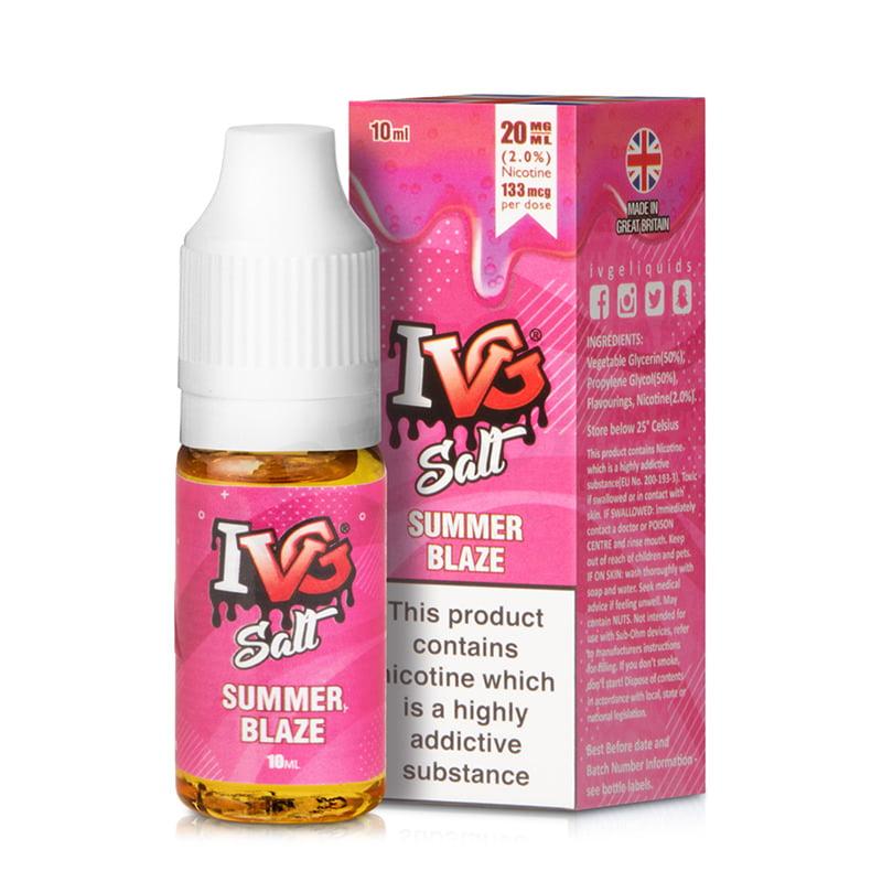 Summer Blaze Nic Salt E-liquid By I Vg