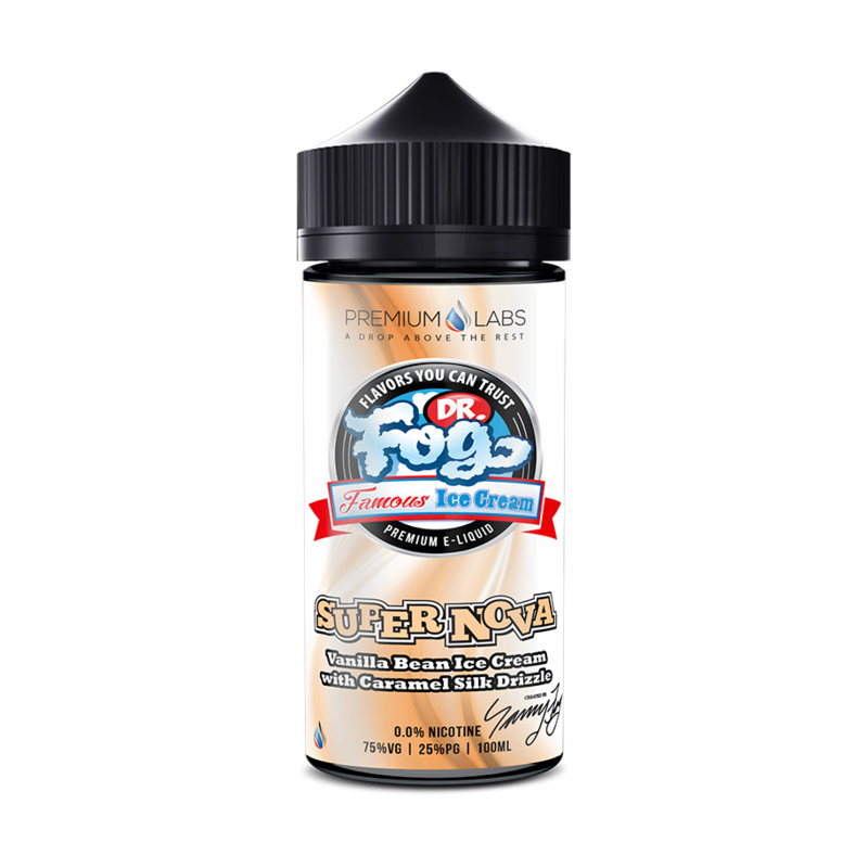 Supernova 100ml Eliquid Shortfills By Dr Frost Famous Ice Cream