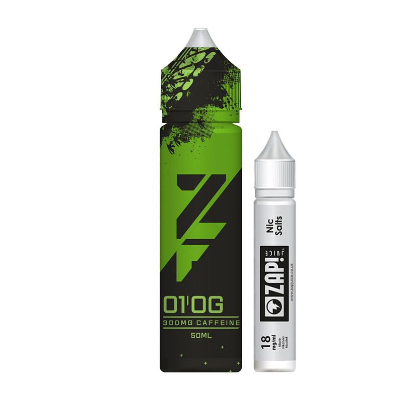 01 Og 50ml Eliquid Shortfills Eftir Zfuel Zap Juice
