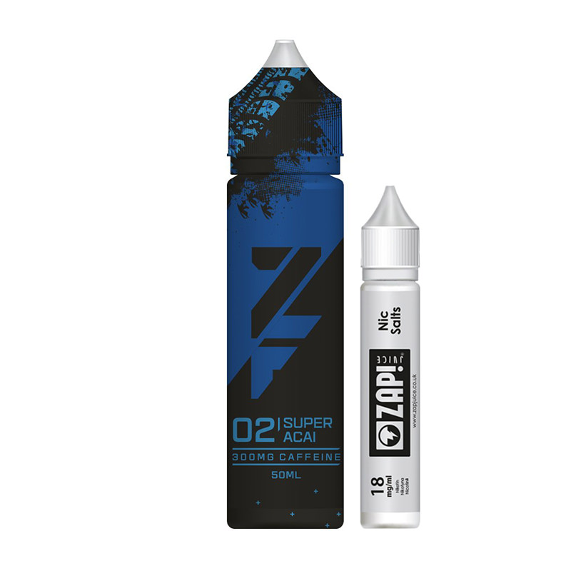 02 Super Acai 50ml Eliquid Shortfills Par Zfuel Zap Juice