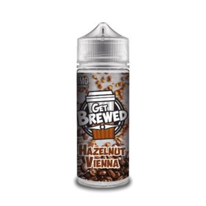 Hazelnut Vienna 100ml E Liquid Shortfills By Get Brewed Moreish Puff