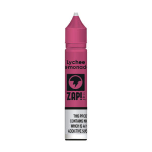 Lychee Lemonade 10ml Nic Salt Eliquid Eftir Zap Juice