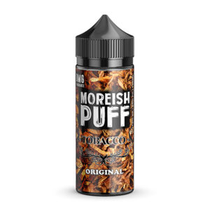 Original 100ml Eliquid Shortfills par Moreish Puff Tobacco