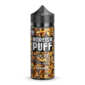 Vanilje 100 ml flydende Shortfills By Moreish Puff Tobacco
