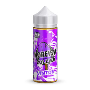 Vimtoe 100ml E flytande Shortfills Av Morish Lollies Morish Puff