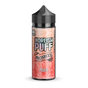 Apple 100 ml flydende Shortfill By Moreish Puff Prosecco