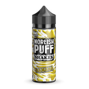 Banana 100ml Eliquid Shortfills De Moreish Puff Shakes