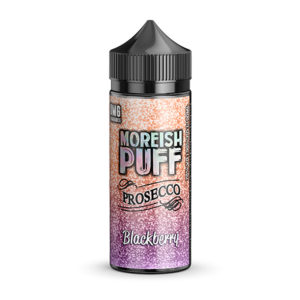 Blackberry 100ml eliquid Shortfill By Moreish Puff Prosecco