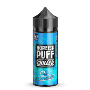 Elíquido de Framboesa Azul 100ml Shortfills Por Morish Puff Chilled