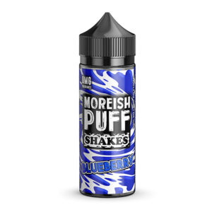 Blueberry 100ml Eliquid Shortfills By Moreish Puff Shakes