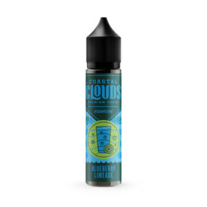 Blueberry Limeade 50 ml tekočina Shortfills By Coastal Clouds Oceanside