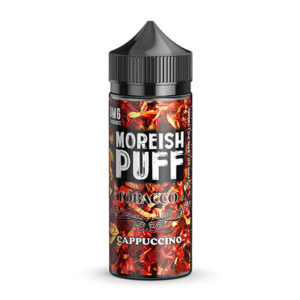Капучино 100ml Eliquid недостатъци от Moreish Puff Tobacco