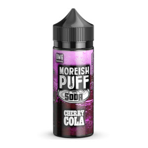 Eliquid Cherry Cola 100ml Shortfills By Moreish Puff Soda