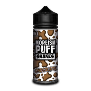 Chocolate 100ml Eliquid Shortfills von Moreish Puff Shakes