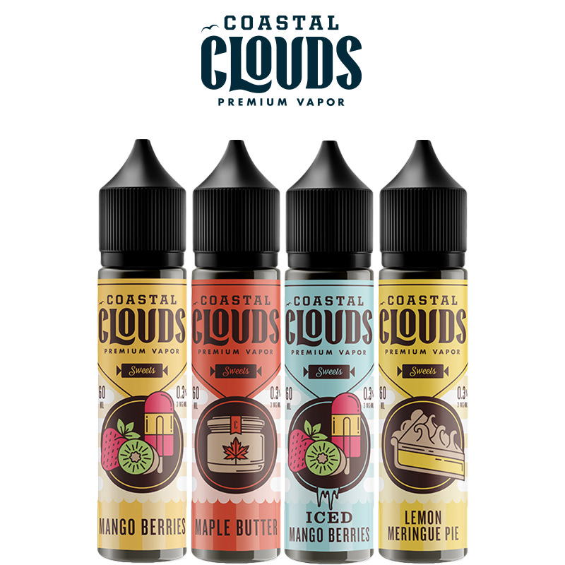 Coastal Clouds Sweets Shortfills